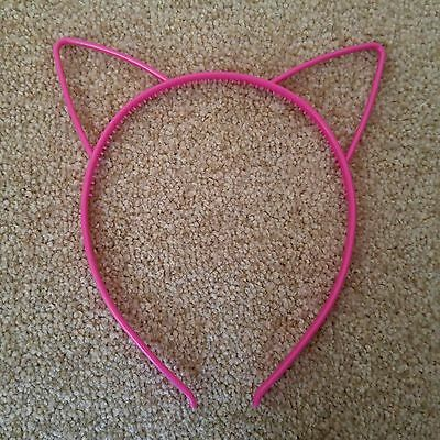 Dotted Cat Ears Headband Kid Adult Fancy Dress Hen Do Party Costume Alice Band