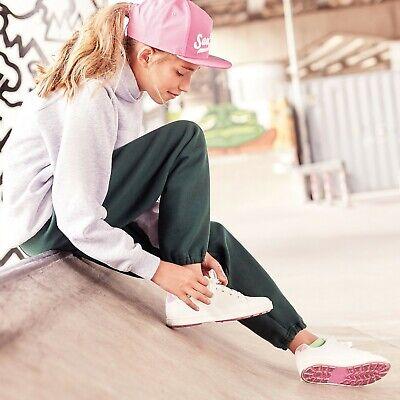 Boys Girls Jogging Pants Plain Joggers Sweat Pants Kids PE Sports Kit Trousers 2