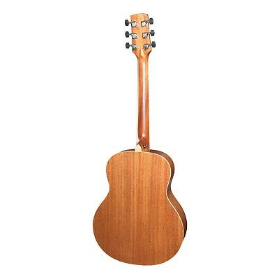 NEW Timberidge Left Handed TS-Mini Solid Spruce Top Acoustic-Electric Guitar 3