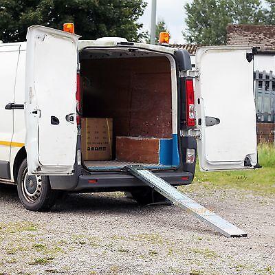 Ramp 1.8M Steel Folding Loading  Trailer Van Motorbike Quad Lawn Mower 7