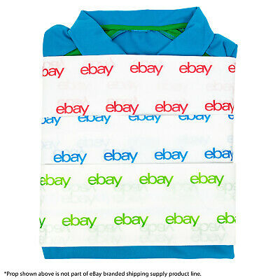 "NEW EDITION Red, Green, and Blue eBay-Branded Tissue Paper Multi-Pack 20"" x 30"" 2"