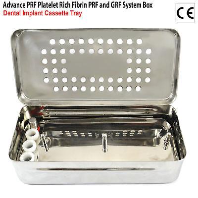 PRF&GRF RGF Box Implant Tray Implant Surgery+Bone Graft Compactor Dental 9PCS CE 5