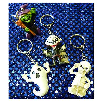 Schlüsselanhänger Halloween wählbar Geist Skelett Tombola 129030013