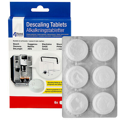 6 x Cleaning Descaling Tablets for AEG Electrolux Zanussi Coffee Machine Makers 3