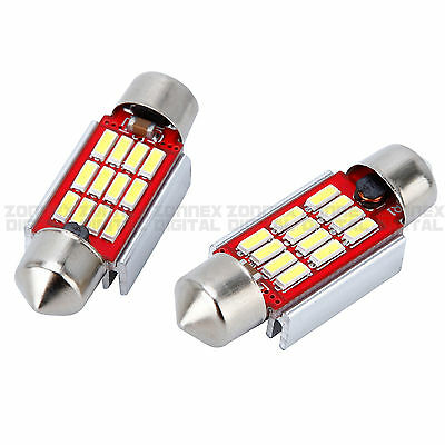 1x Audi R8 Bright Xenon White LED Number Plate Upgrade Light Bulbs