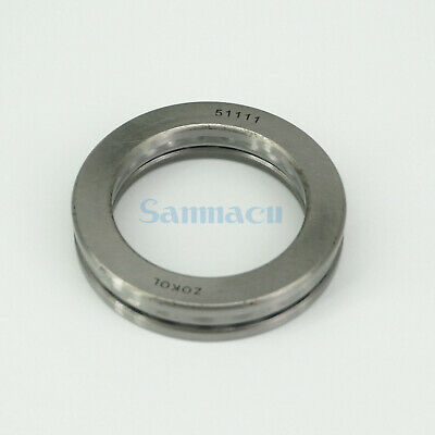 51111 55 x 78 x 16mm Axial Ball Thrust Bearing (2 Steel Races + 1 Cage) ABEC-1 3