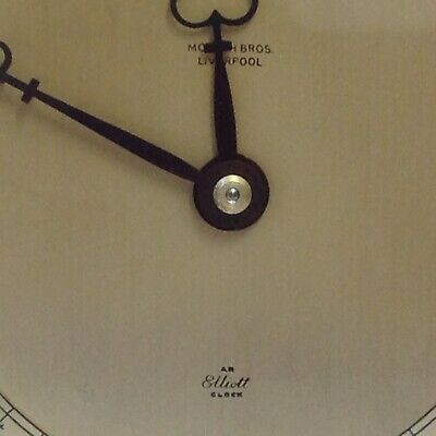 Antique Clock By Morath Bros. Liverpool, Elliot Clock. Made In England. Working 5