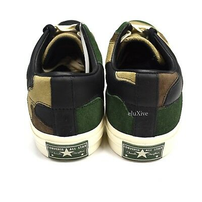 33850be5b689 ... NWT Converse Sneakersnstuff SNS Camo Patchwork One Star Men s Sneakers  AUTHENTIC 4