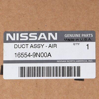 ONE NEW OEM 2009-2014 NISSAN MAXIMA UPPER AIR INTAKE DUCT 165549N00A 16554-9N00A