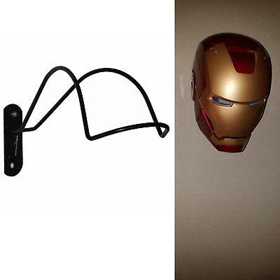 One Wall Mount Football Helmet Rack or Iron Man Helmet or Scout Trooper Helmet