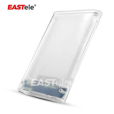 "USB 3.0 Transparent 2.5"" SATA 3.0 5Gbps SSD HDD Hard Disk Drive Enclosure Case 8"