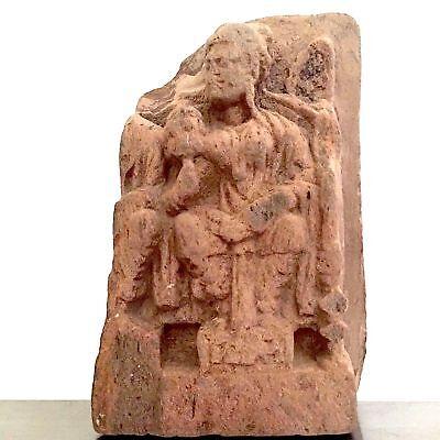 Red Sandstone Frieze, Maha Maya (Prediction of Asita), 2nd - 4th century*, India 2