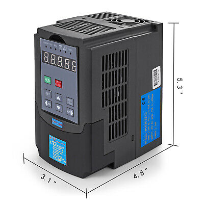 Top 220V 2.2Kw 3Hp Variable Frequency Drive Vfd Inverter Free Postage 2