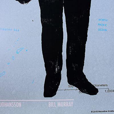 G734 Lost in Translation Scarlett Johansson Movie Art Poster Silk Cloth Decor