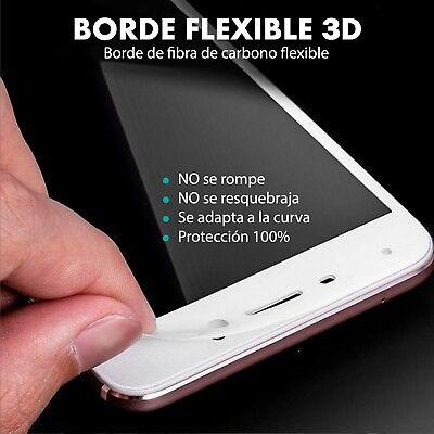 Protector Pantalla Huawei P8 Lite 2017 Cristal Templado 3D Dureza 9H 3