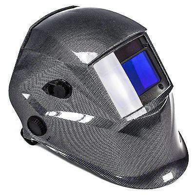 awm® WH02C Automatik Schweißhelm + 10x Ersatzgläser Schweißschirm Schweißmaske