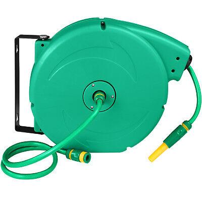 Enrouleur automatique de tuyau d'arrosage pour jardin Tuyau d'eau inclus 20 m 12