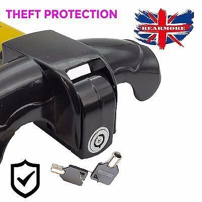 Anti-Theft Car/Van Security Rotary Steering Wheel Lock-High Visibility UK SELLER