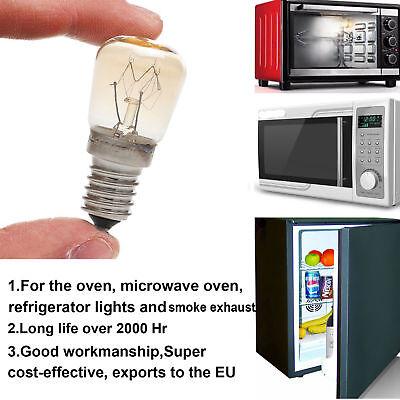 Horno Luz Congelador Nevera Bombilla E14 E12 3w 4w 15w 25w Alta Temperatura 4