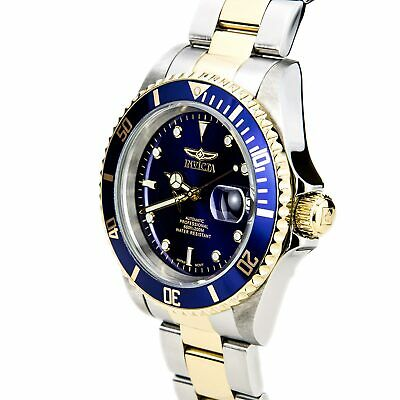 Invicta Men's Watch Pro Diver Automatic Two Tone Stainless Steel Bracelet 8928OB 4