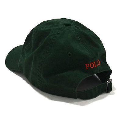 f3ff338d62a ... Polo Ralph Lauren Ball Cap Hat Mens Pony Logo Baseball One Size  Adjustable New 3