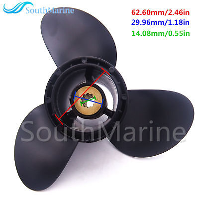 58100-93743-019 Propeller 9 1/4 x11 R for Suzuki DT9.9 DT15 DF9.9 DF15 DF20