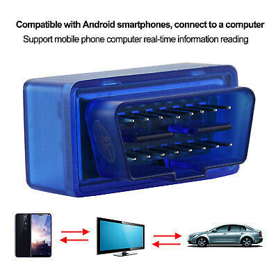Mini OBD2 II Bluetooth Auto Car OBD2 Diagnostic Interface Scanner Tool ELM327 4