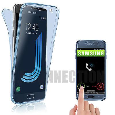 Coque Housse 360 Silicone Integral Pour Samsung S8/s9/s5/s6/s7/edge J3/j5 A5/a8 5