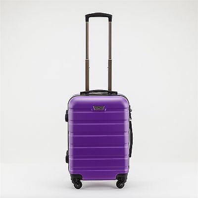 20 Inch (40L ) Suitcases Luggage Trolley Travel Bag Cabin Carry on hard case 2