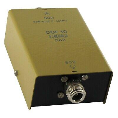 0-30MHz 20dB DGF10 DGF 10 Attenuator GDR RFT SMV11 SMV8.5 2