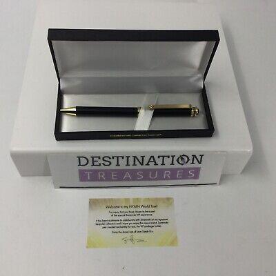 Sarah Brightman HYMN Concert Swarovski VIP Experience Gold Pen Gift & Silver Pen 3