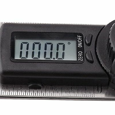 Electronic Digital Protractor Goniometer Angle Finder Meter Gauge Tool CE 360° 6