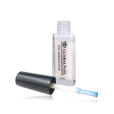 TRANSFER FOIL ADHESIVE NAIL GLUE  Star For Paper White Clear 10ML 7