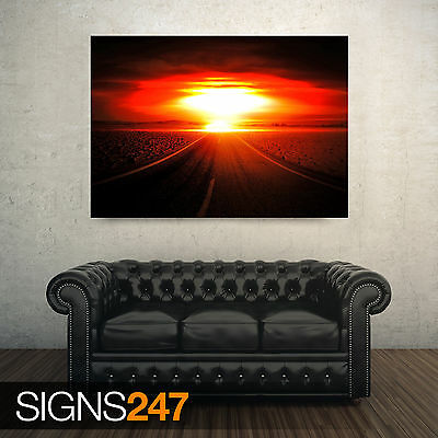 Photo Picture Poster Print Art A0 to A4 NUCLEAR EXPLOSION AC334 ARMY POSTER