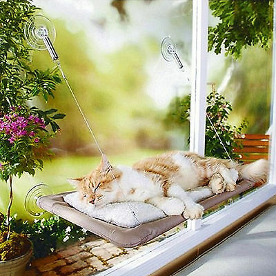 Washable Window Mount Cat Bed Hammock Hanging Bed Nest Pet Resting Sunny Seat
