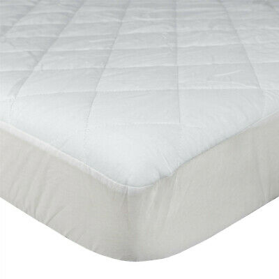 Extra Deep Quilted Mattress Bed Protector Topper Fitted Cover Double King Size 12