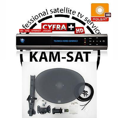 Telewizja Na Karte Polsat.Na Karte 1miesiac Free Cyfra Cyfrowy Polsat Antena Satelitarna