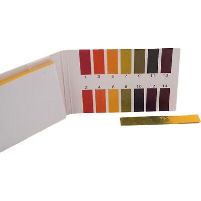 320 Stk.1-14 pH Wert Teststreifen Indikatorpapier Strips Messung Pool Wassertest 2