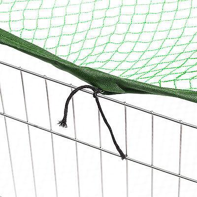 Enclos avec filet de protection extérieur cage à lapin parc petits animaux vert 4