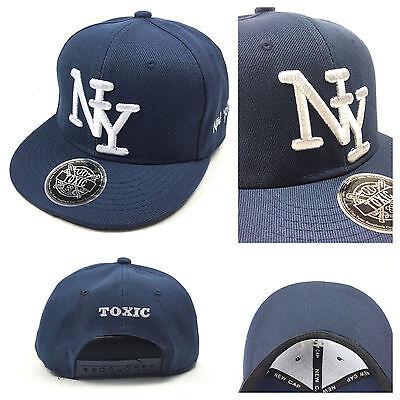 KINDER CAP NY SNAPBACK Baseball Caps Kappe Unisex New York TOXIC Mädchen Jungen