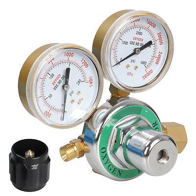 New Gas Welding Cutting Kit Oxy Acetylene Oxygen Torch Brazing Fits 4