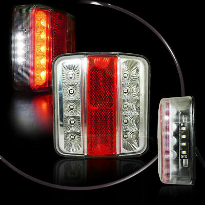 1x LINKES LED RÜCKLICHT RÜCKLEUCHTEN ANHÄNGER LICHT LEUCHTE BLINKLICHT TRAILER