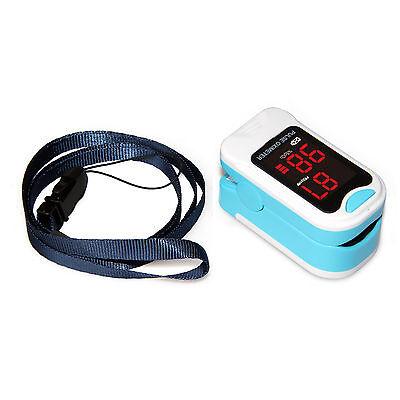 US seller Finger Pulse Oximeter Blood Oxygen Sensor O2 SpO2 Monitor Heart Rate 4