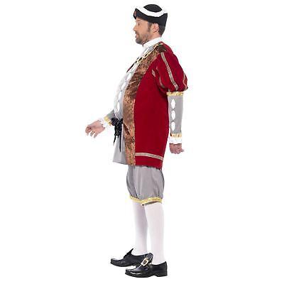 Da Uomo Adulto Lusso Re Enrico VIII 8° Storico Tudor Costume 3