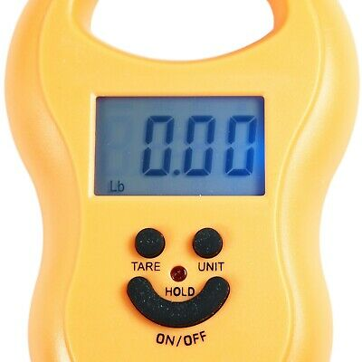 50Kg / 5g-10g Portable Digital Hanging / Fishing Scale with Lighted LCD Display 6