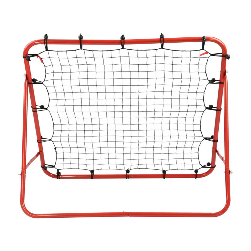 New Rebounder Net Kids Adults Football Training Aid Practice Adjustable 4