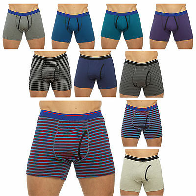 Tom Franks 1 Pair Mens Boxers Cotton Rich Shorts Striped Pants Underwear