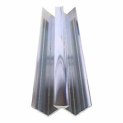 Aluminium Trims For 10mm Shower Wall Panels Bathroom End Cap Corners H Join 2.4m 6