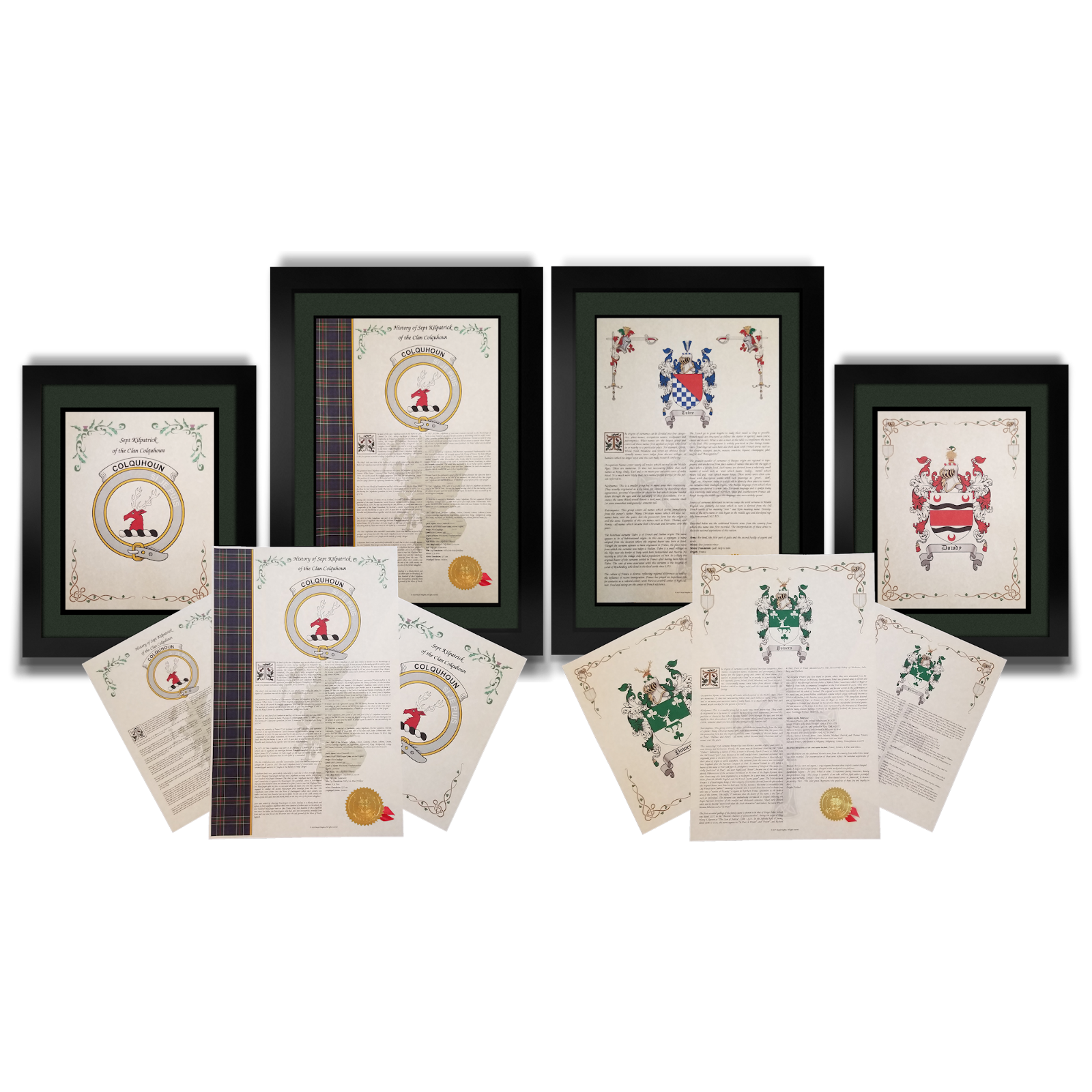 Find Your Name Here - Family Coat of Arms Crest Prints - English Origin 5