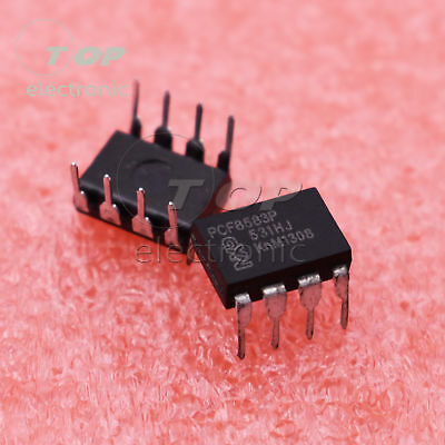 5PCS PCF8583P Clock and calendar with 240 X 8-bit RAM DIP8